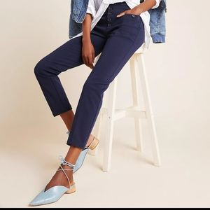 Anthropologie Bryson Tapered Trouser Pants